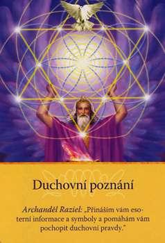 """Duchovné poznanie - Archanjel Raziel: """"Prinášam vám ezoterických informácie a symboly a pomáham vám pochopiť duchovné pravdy."""""""